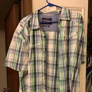 Ecko Unlimited Button down short sleeve shirt